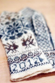 Mittens Stars and Birds | Flickr - Photo Sharing!