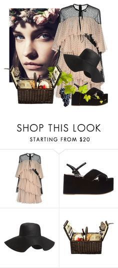 """Quaintrelle Betty"" by bibiantje-m on Polyvore featuring mode, Philosophy di Lorenzo Serafini, Old Navy, Picnic at Ascot, girlstrip en WineTastingOutfit"