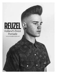 The pompadour is a classic mens hairstyle. Classic Mens Hairstyles, Quiff Hairstyles, Classic Haircut, Hairdos, Latest Haircuts, Haircuts For Men, Men's Haircuts, Razor Fade, Modern Pompadour