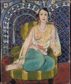 Henri Matisse ~ Seated Odalisque 1926