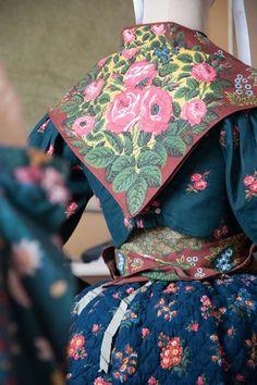 Bastidane vers 1830. Provence maritime (Var ou Bouches-du-Rhône) - #FragonardParfumeur #Costumes #Musée #Museum #Provence #Riviera #Grasse