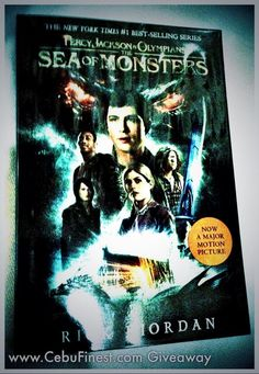 CebuFinest Bookworm Giveaway: Percy Jackson (The Sea of Monsters) Sea Of Monsters, Olympians, Percy Jackson, New York Times, Book Worms, Giveaway, Reading, Books, Movie Posters