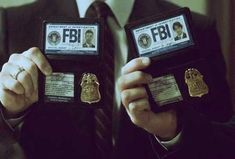 """you can't pretend to be the fbi!"" ""we can if we have their badges."" ""fake badges!"""
