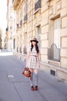 The cherry blossom girl Chic Outfits, Fashion Outfits, Fashion Blogs, Fashion Beauty, Mulberry Shoes, Vintage Outfits, Vintage Fashion, Vintage Style, Cherry Blossom Girl