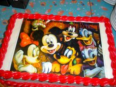 Mickey and Friends Cake, Disney World