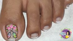 Toe Nail Art, Toe Nails, Purple And Pink Nails, Cute Pedicures, Nail Designs, Hair Beauty, Lily, Triangles, Toenails