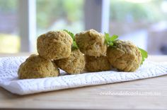 toddler food: chickpea and vegetable bitties - great on their own, used as sandwich fillers, or dippers for healthy dips...can use vegan mayo