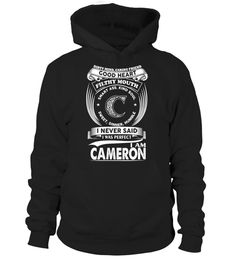 # CAMERON .  JUST FOR CAMERONHOW TO ORDER:1. Select the style and color you want: 2. Click Reserve it now3. Select size and quantity4. Enter shipping and billing information5. Done! Simple as that!TIPS: Buy 2 or more to save shipping cost!This is printable if you purchase only one piece. so dont worry, you will get yours.Guaranteed safe and secure checkout via:Paypal | VISA | MASTERCARD