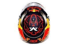 Helmet Design Max Verstappen 2018 Aston Martin Red Bull Racing By JMD