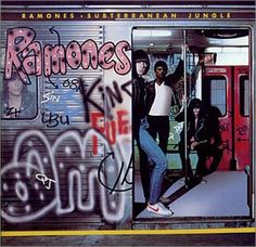 """""""The Ramones 'Subterranean Jungle' album was released on this day in 1983 Ramones, Cover Songs, Music Covers, Album Covers, New Wave, Jungle Album, 70s Rock And Roll, Modern Drummer, Somebody To Love"""