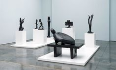 Paul Kasmin Gallery presents a rare showing of Max Ernst's sculptures in New…