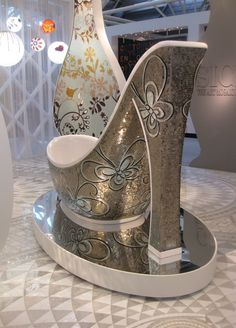 SICIS, The Art Mosiac Factory: A Fashionista's Dream Shoe Bathtub Collection