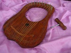 10 string Lyre Harp.