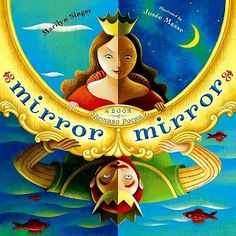 Mirror Mirror by Marilyn Singer is my next favorite poetry book.  This book will blow your mind!  Each poem can be read forwards or backwards, each time presenting a different point of view.  Amazing!  Some of your kids might be brave enough to try this strategy in their own poetry.