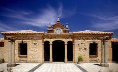 En #Toledo el hotel Cigarral El Bosque, un lugar con encanto Places In Spain, Mansions, House Styles, World, Travel, Home, Romantic Getaways, Landscape Photos, Country Cottages