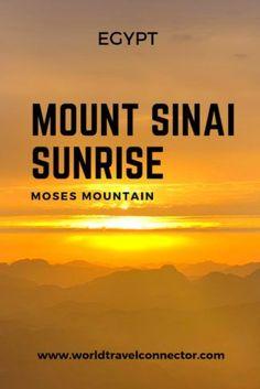 Climbing Mount Sinai #egypt #travel #hiking #mountain #mount #sinai #moses #monastery