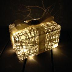 DIY present lamp