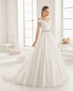 ELISA  vestido de novia Rosa Clará Two