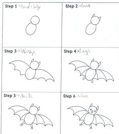 Let's go!: How to draw a bat