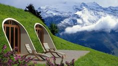 Live like a hobbit - Green Magic Homes has devised a prefabricated shell that lets you create your own hobbit house.