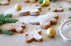Kids Christmas, Gingerbread Cookies, Good Food, My Pie, Recipes, Gingerbread Cupcakes, Ripped Recipes, Healthy Food