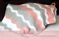 Love these colors! Crochet Blanket Pattern by Daisy Cottage Designs, via Flickr
