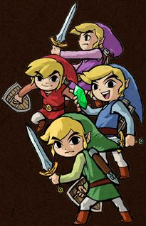 The Official Site of The Legend of Zelda: Four Swords Anniversary Edition