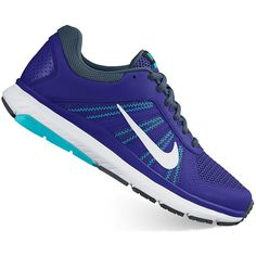 Nike Dart 12 Women's Running Shoes ($53) ❤ liked on Polyvore featuring shoes, athletic shoes, blue, breathable shoes, fleece-lined shoes, nike, lightweight running shoes and mesh athletic shoes