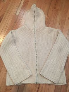 Helmut Lang Early 90s Thick Knit Full Zip Hoodie Helmut Lang S Size S $282 - Grailed