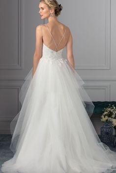 Featured Dress: Casablanca; Wedding dress idea.