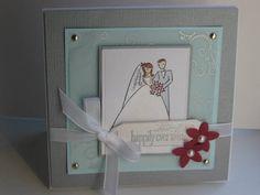 my favorite wedding card to make-love this stamp set