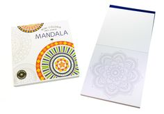 Mini Colorir Anti-Stress Mandalas