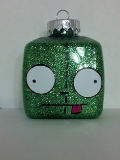 Invader Zim Gir Christmas Ornament Can be by JustAnAwesomeMom, $6.00