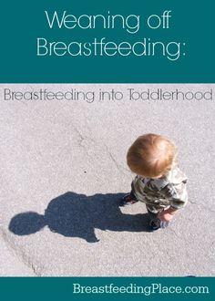 Weaning off Breastfeeding: Breastfeeding into Toddlerhood
