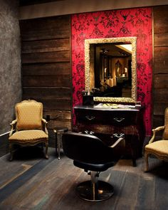 Whittemore House, New York City: This unusual salon occupies the ground floor of what was originally a 19th-century boarding house in Manhattan's West Village.