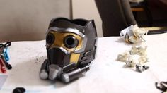 How to Build Your Own DIY Star-Lord Guardians of the Galaxy Mask « Halloween Ideas