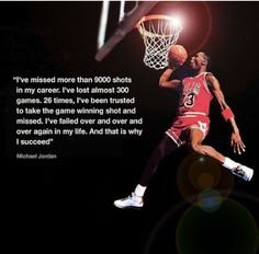 Great Michael Jordan quote Inspirational posters and