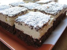Eskymo řezy Nutella, Tiramisu, Easy Meals, Easy Recipes, Bakery, Food And Drink, Sweets, Cooking, Ethnic Recipes