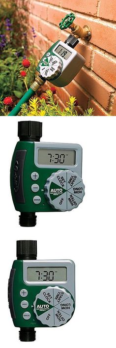 Watering Timers and Controllers 75672: Orbit 1-Outlet Programmable Water Timer Hose Faucet Sprinkler, F -> BUY IT NOW ONLY: $30.99 on eBay!
