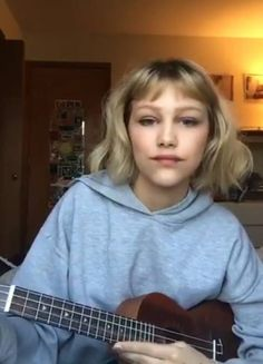 Let's write a song Meaning Of Be, Grace Vanderwaal, Dancing In The Moonlight, Famous Singers, America's Got Talent, Amazing Grace, Ukulele, Hair Inspiration, Idol