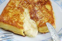 커스터드 크림이 잔뜩! 감동의 프렌치 토스트 만들기 Breakfast Dishes, Breakfast Recipes, Breakfast Ideas, Sandwich Bread Recipes, Breakfast Specials, Stale Bread, Crispy Pork, Custard, Delicious Desserts