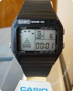 CASIO - GM-40 - Game - Vintage Digital Watch - DigitalWatchLibrary.com