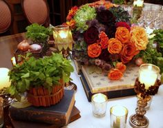Books rented for private Adam Gopnik event -photos and flowers by Surroundings Flowers
