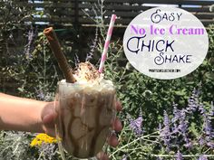 These easy no ice cream thick shakes are a great way to copy the expensive coffee shop versions this summer. They are healthier, tastier and cheaper. Easy Chocolate Milkshake Recipe, Chocolate Shake, Milkshake Recipes, Chocolate Syrup, Frozen Drinks, Frozen Fruit, How Much Sugar, Expensive Coffee, Banana Milk