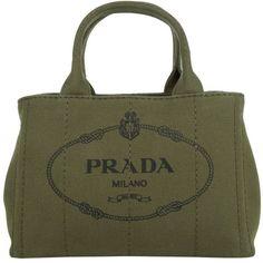 Prada Handbags Canvas