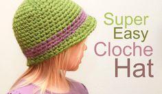 crochet cloche hat patterns free | Crocheted Cloche Scarf Set Crochet Pattern | Red Heart