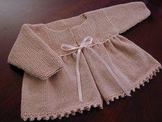 Matinee Coat by wrenwinter, via Flickr (Debbie Bliss)