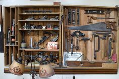Antique tool display