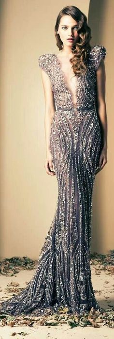 """Ziad nakad #gowns,✮✮Feel free to share on Pinterest"""" ♥ღ www.FASHIONANDCLO..."""