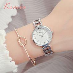 KIMIO Vintage Black Watch Naiset Muoti Quartz Naiset Kello Luxury Brand  Kiinan rannekello Rannekoru Naisten kellot 9c72d1cf10